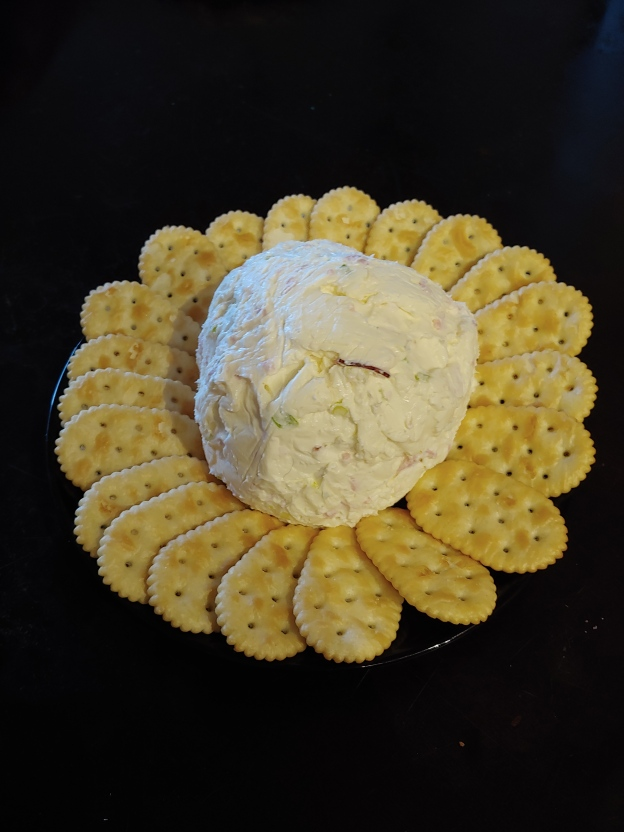 Ham and Herb Cheese Ball