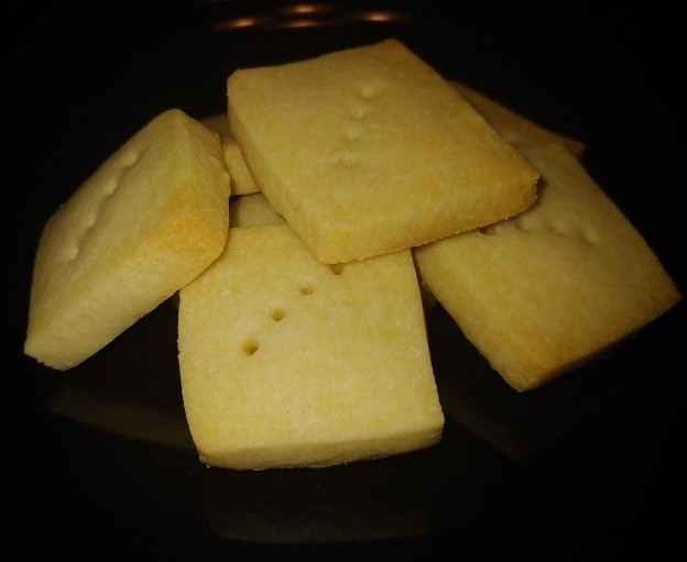 Star Anise Wild Orange Shortbread