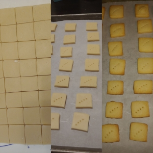 Short Bread Baking