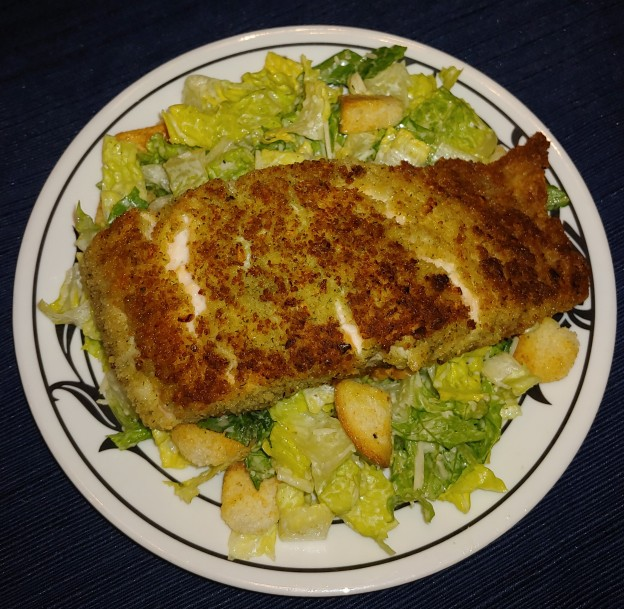 Blue Cheese Crusted Salmon