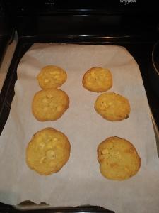 Gluten Free White Chocolate Macadamia Nut Cookies Baked