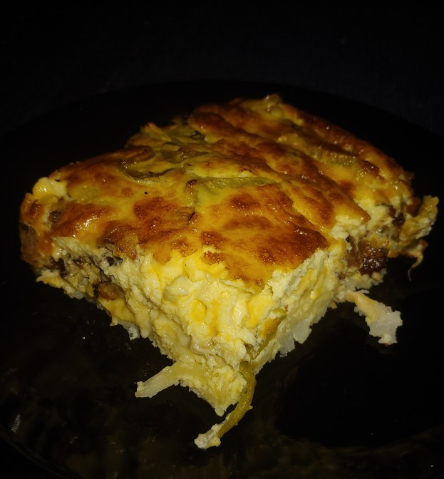 Hatch Chili Quiche