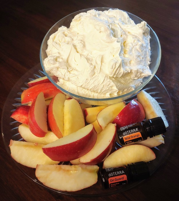 Wild Orange Fruit Dip with OnGuard Apples