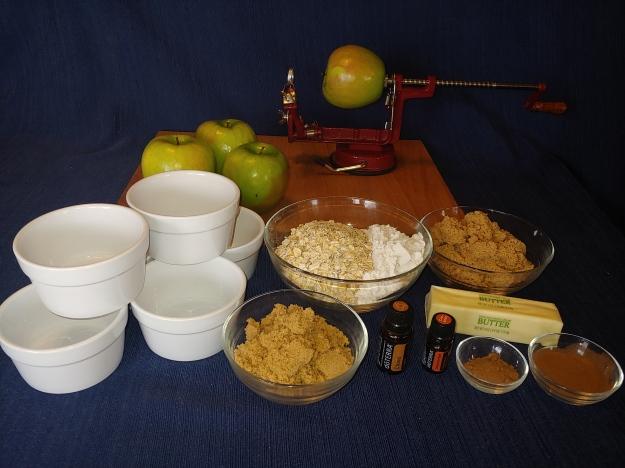 Spiced Apple Crisp Ingredients
