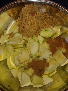 Spiced Apple Ingredients
