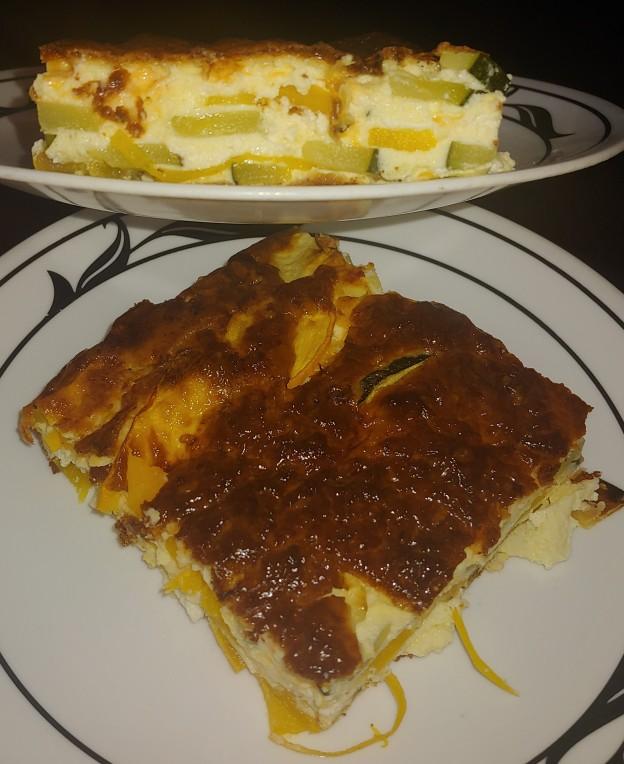 Zucchini Goat Cheese Quiche