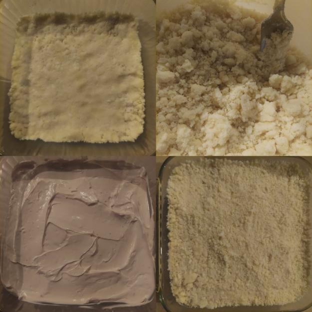 Crumb Cake Steps